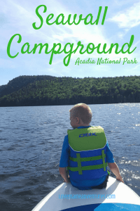 CAmpground, Acadia, Maine, Camping with Kids, where to camp in Acadia, where to camp in Maine, campsites in Maine, campsites, tenting, adventures