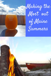 Maine Summer making the most of it