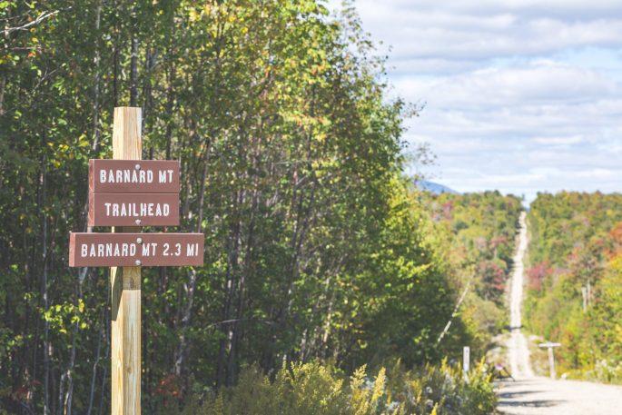 Barnard Mountain Trail