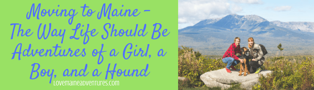 Moving to Maine - The Way Life Should Be - Adventures of a Girl, a Boy, and a Hound