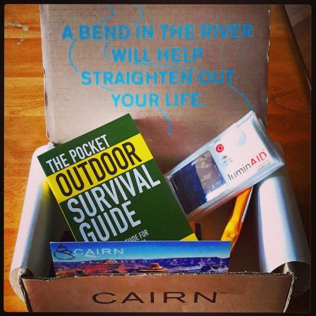 Cairn Box, adventure subscription
