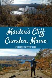 Maiden's Cliff, hikes in Maine, hikes for kids, hikes for dogs, day hikes in Maine,
