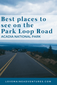 Best places to see on the Park Loop Road, Acadia National Park, Maine