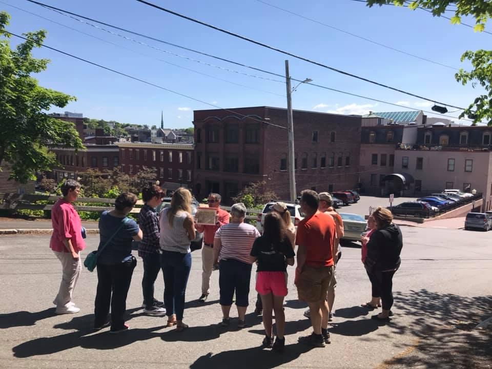 walking tours of Downtown Bangor Maine