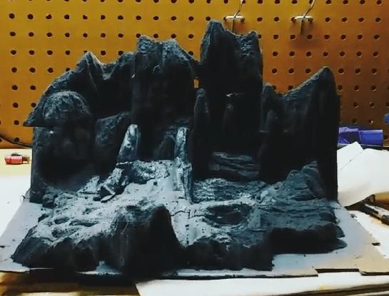 miniature comet surface set