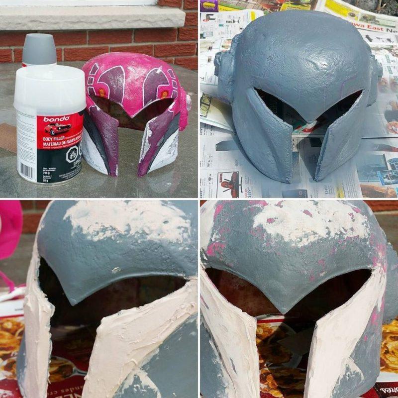 Bondo Sabine Wren helmet
