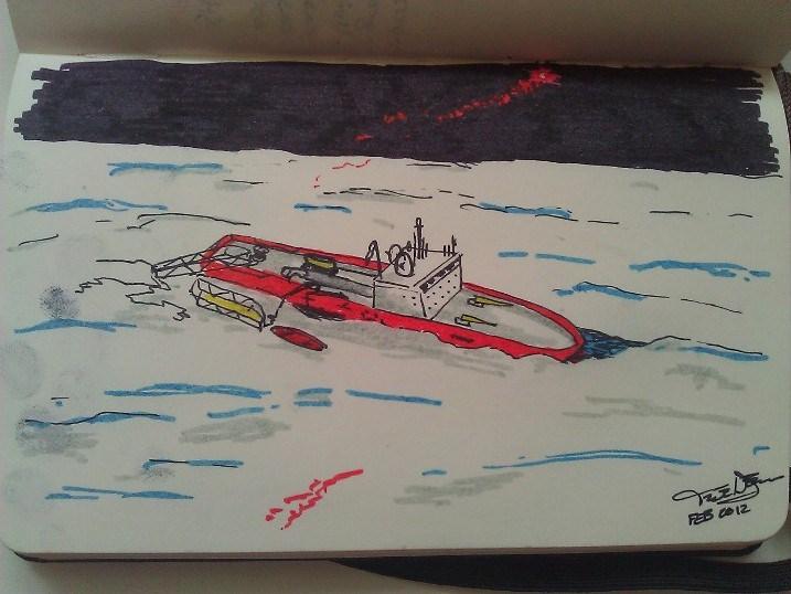 CCGS Beaufort - 2012, from the novel The Amundsen Effect