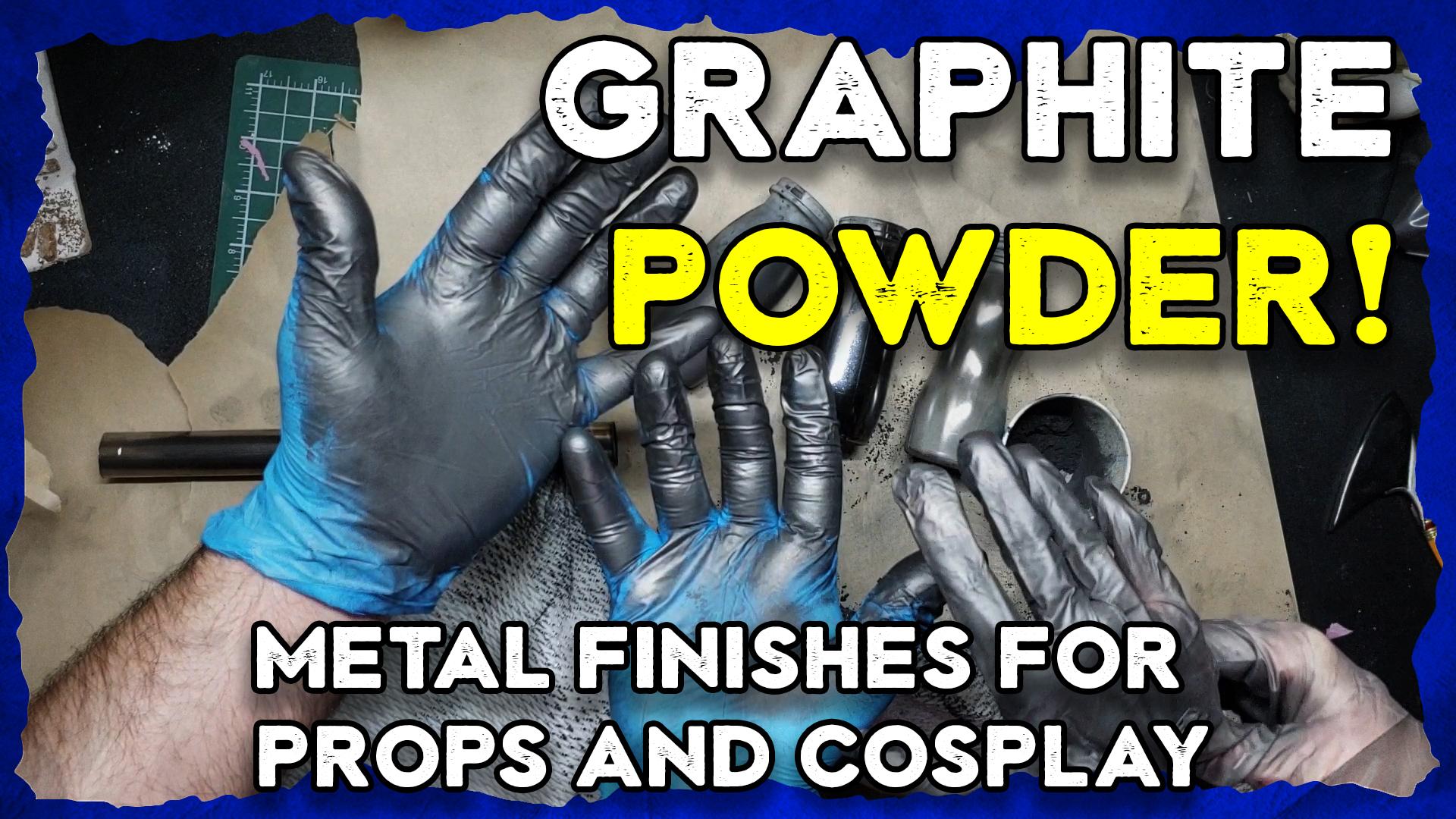 graphite powder metallic finish