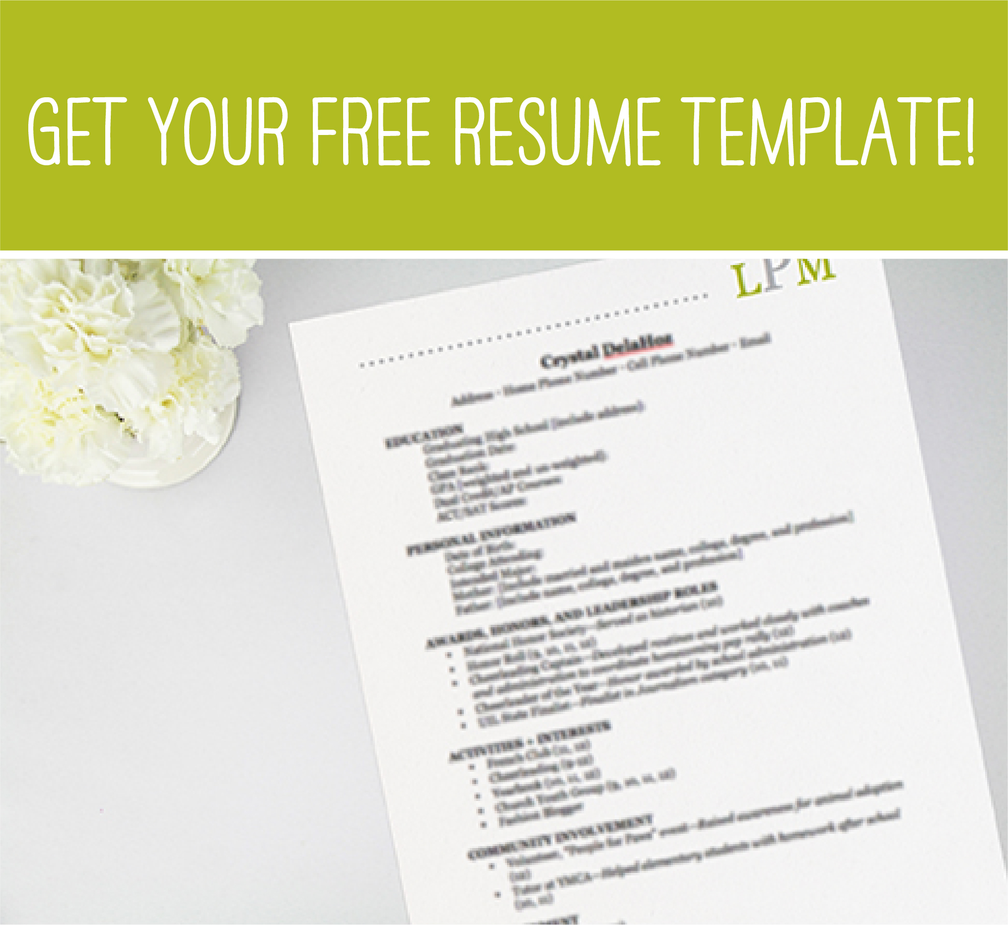 Rush 101 Perfecting Your Resume Love Me Photography