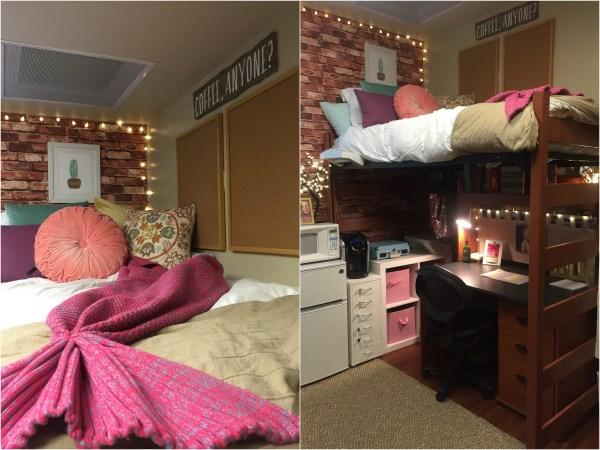 Creative Dorm Room Ideas to Make Your Space More Cozy | Senior Portrait Photographer in Dallas ...