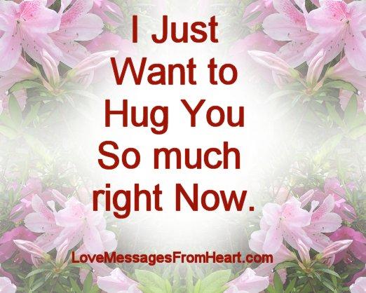 cute hug quotes love