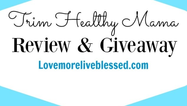 Trim Healthy Mama Plan Book Giveaway