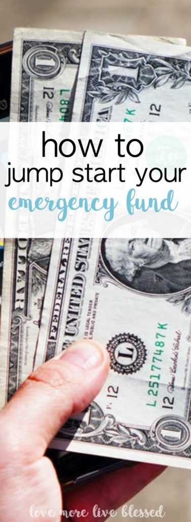It's so important to have an emergency fund. You never know when you'll need some cash. Here are a few great ideas to help you save money and fund your emergency savings. money | savings | how to start emergency fund |
