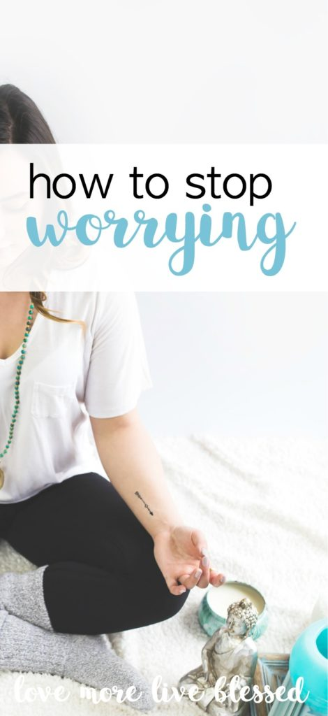 Great post on how to stop worrying. It's not always so easy to stop worrying but it's best if you try not to worry. how to let go of worry | stop worrying |