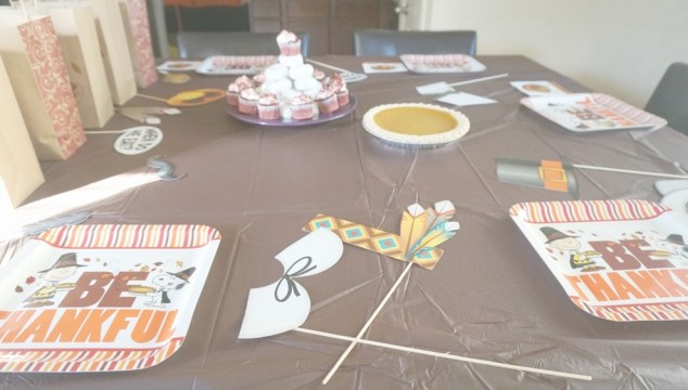 Simple Thanksgiving Party For Kids