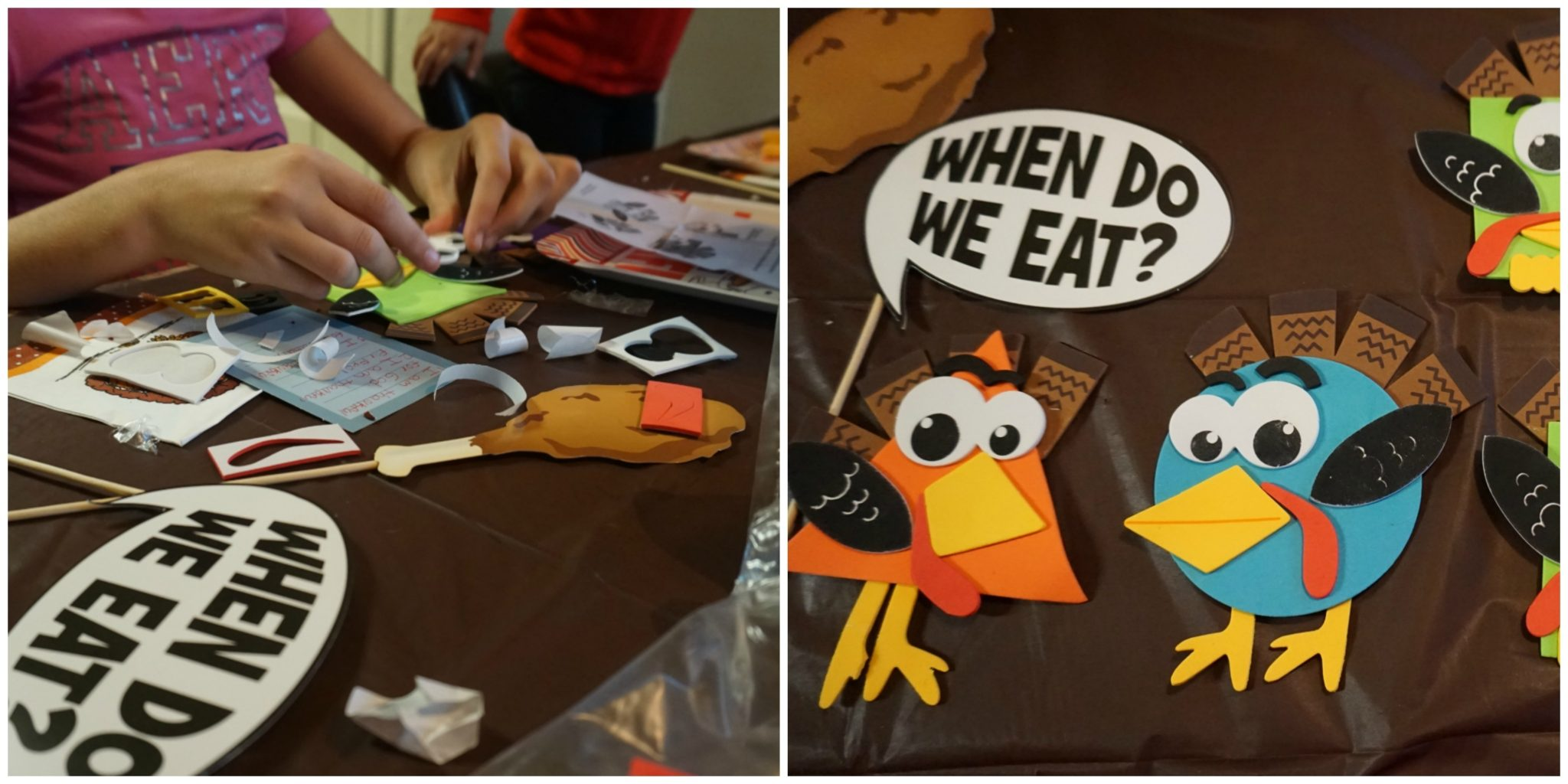 Thanksgiving party for kids
