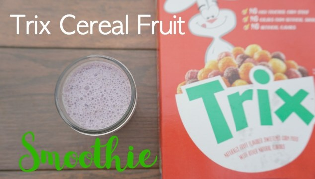 Easy Trix Cereal Fruit Smoothie