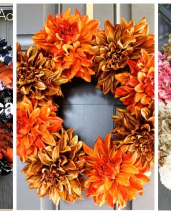 3 Easy Fall Wreaths You Can Make Today