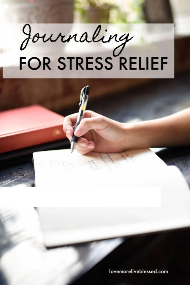 Journaling for stress relief. A popular way to beat stress is journaling. With journaling you can write down your stressors and figure out your stress triggers. Journaling has many health benefits. Click to learn more about journaling for stress relief.