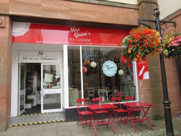 Mrs Greens Tea Lounge, Dumfries