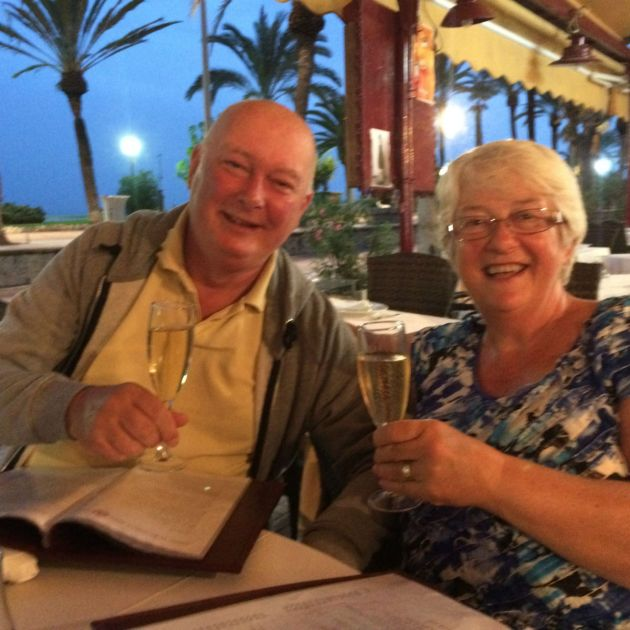 Chris and Shirley celebrate 60 years of being siblings