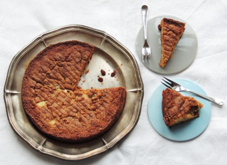 Æblekage med appelsinmarmelade og whisky