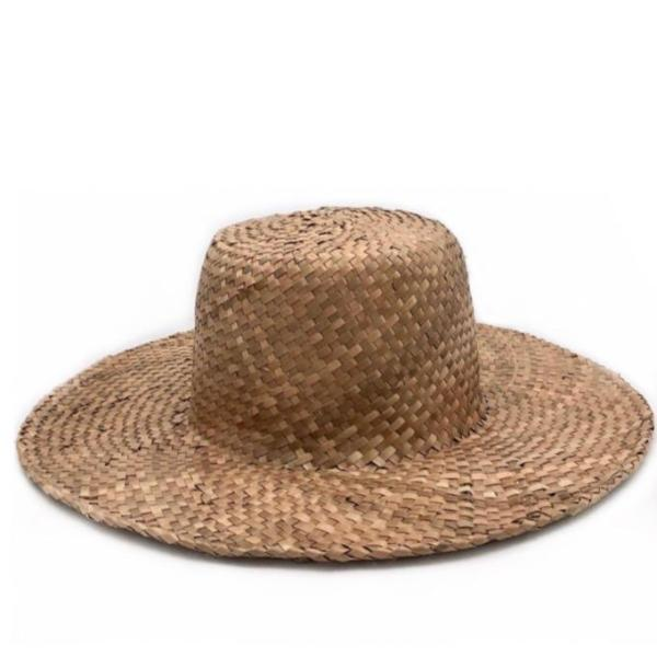 fini summer palm hat brown