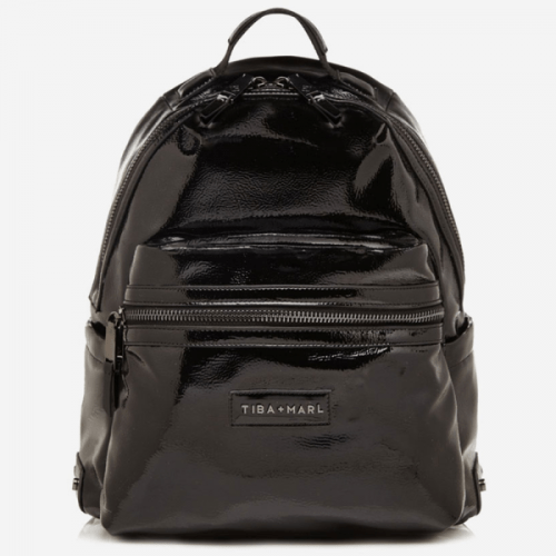 Tiba and Marl Miller Backpack (black patent)