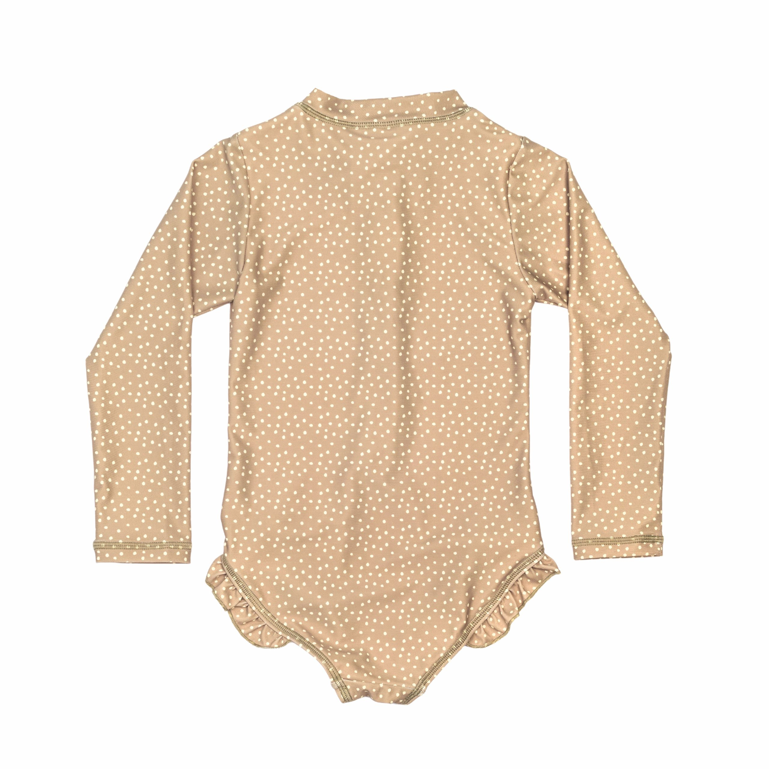 Children of the Tribe Out of Africa Long Sleeved Swim Onesie (sage)