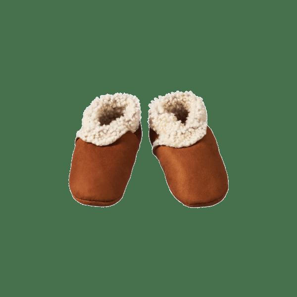 Nature Baby Lambskin Booties (cinnamon)