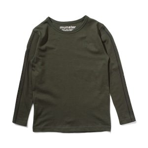 Munster Painting Bones LS Tee (forest)