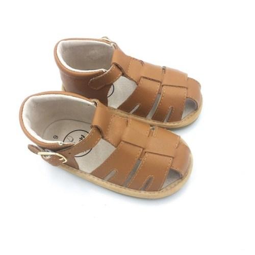 Little Ma Zoes  Closed Toe Sandal