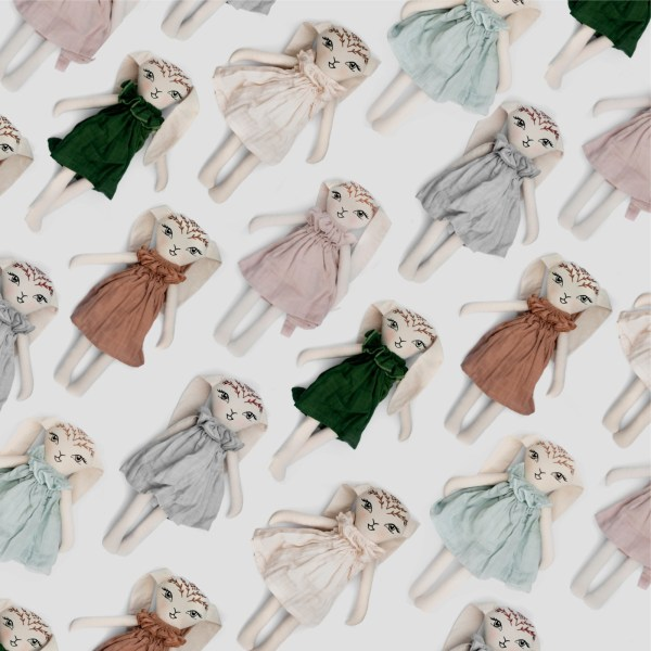Burrow and Be Bunny Doll (blush)