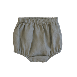 Two Darlings Linen Nappy Cover (Sage)