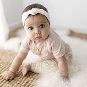"Two Darlings Baby ""Basics"" Bodysuit Bamboo (blush)"