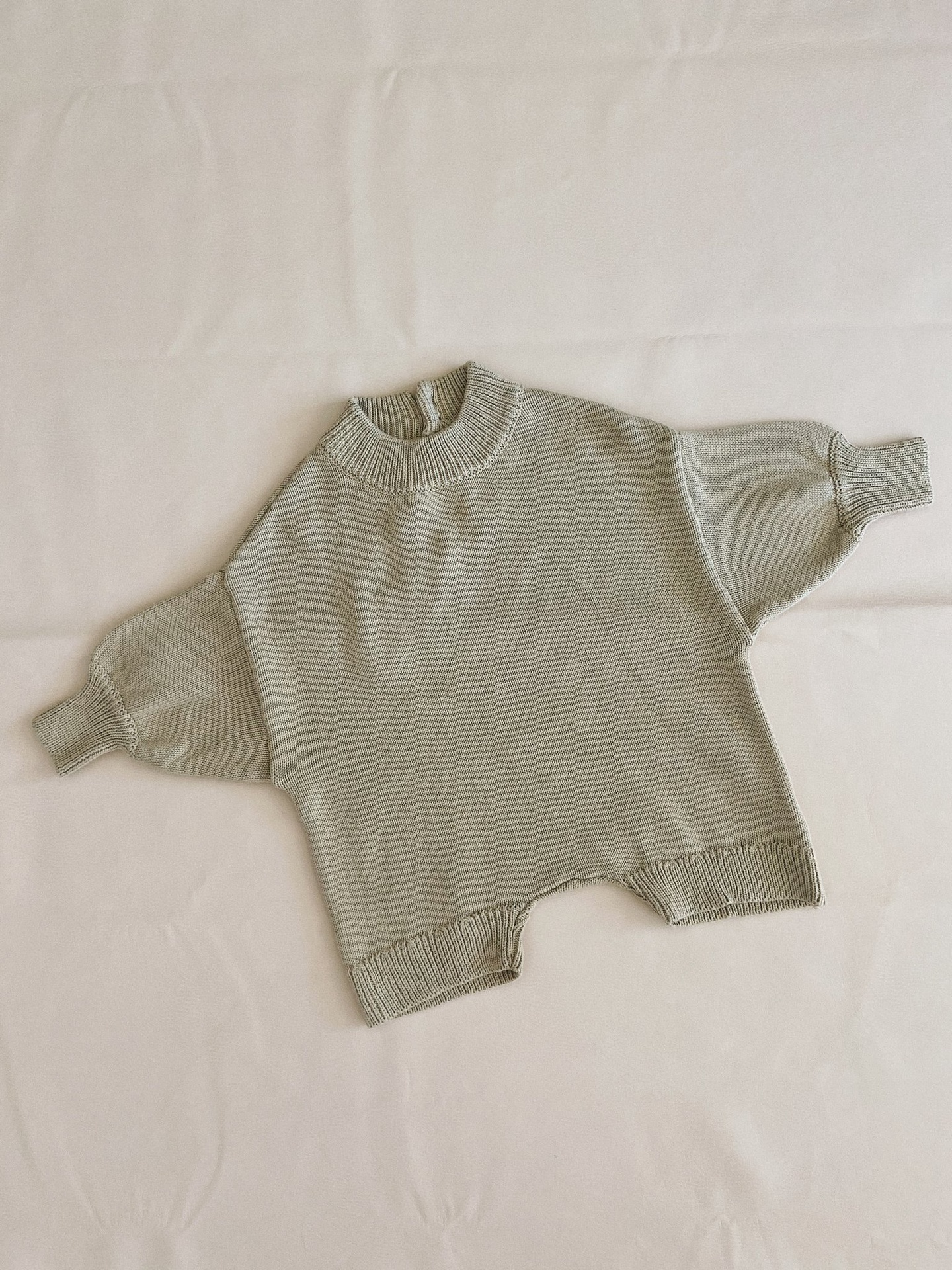 Tiny Trove Olsen Knit Playsuit