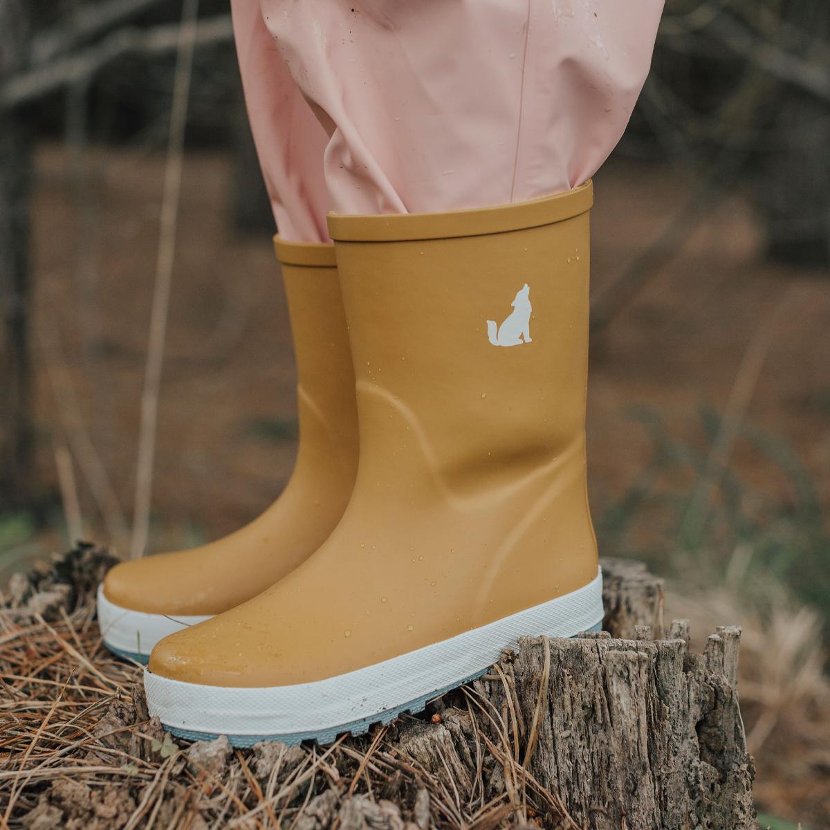Crywolf Rain Boots Rust