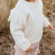 Grown Frill Knit Pull Over