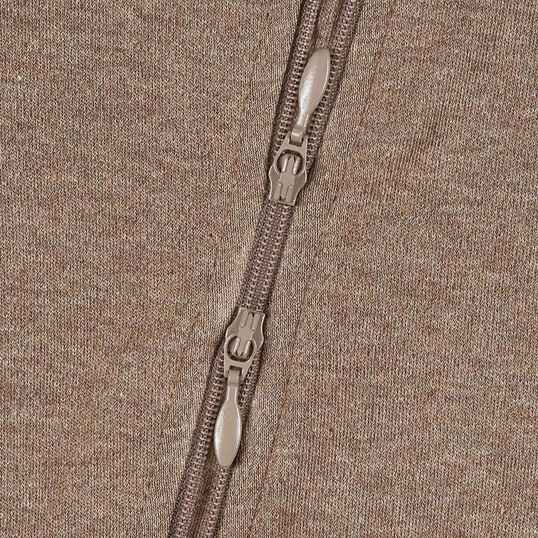 Toshi Organic L/S Zip Onesie