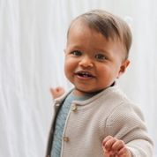 Burrow and Be Charlie Knit Cardigan (oatmeal)