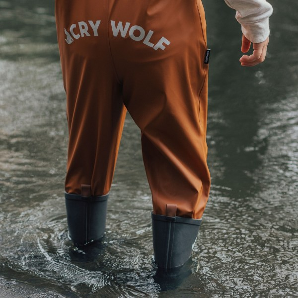Crywolf Rain Overalls Rust