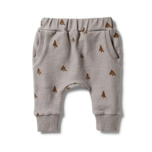 Wilson and Frenchy French Terry Slouch Pant (little trees)