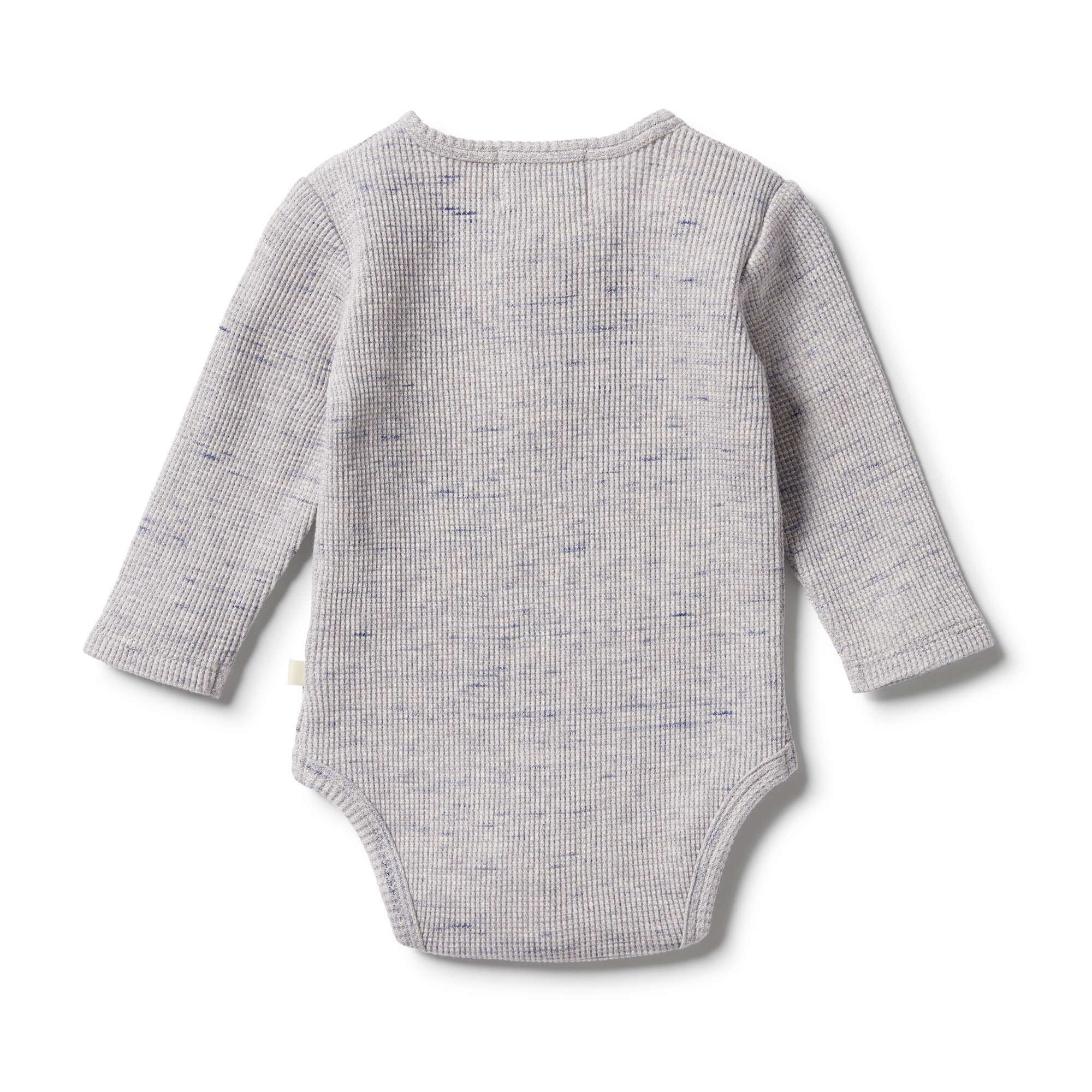 Wilson and Frenchy Waffle Henley Bodysuit