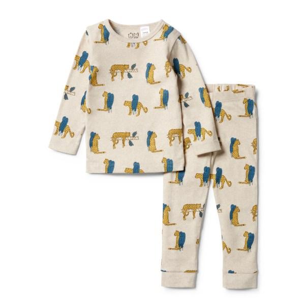 Wilson and Frenchy Organic L/S Pyjama Set