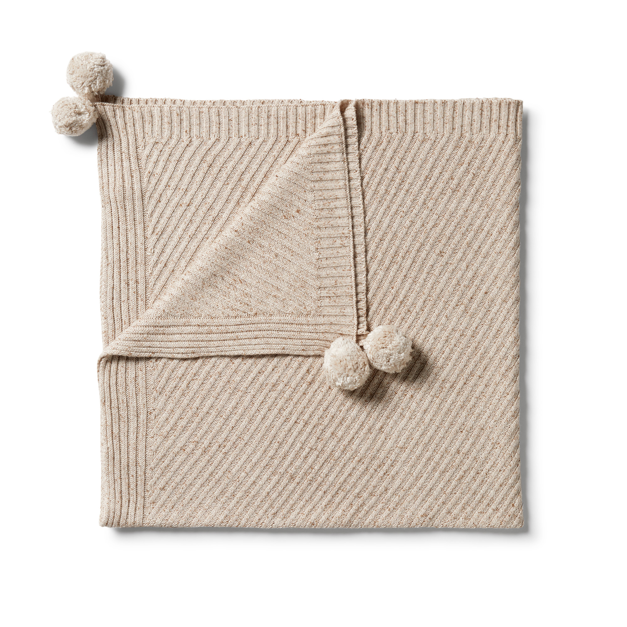 Wilson and Frenchy Knitted Jaquard Blanket
