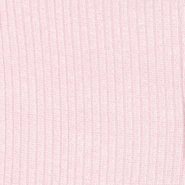 Bebe Pink Rib Legging (dusky pink)