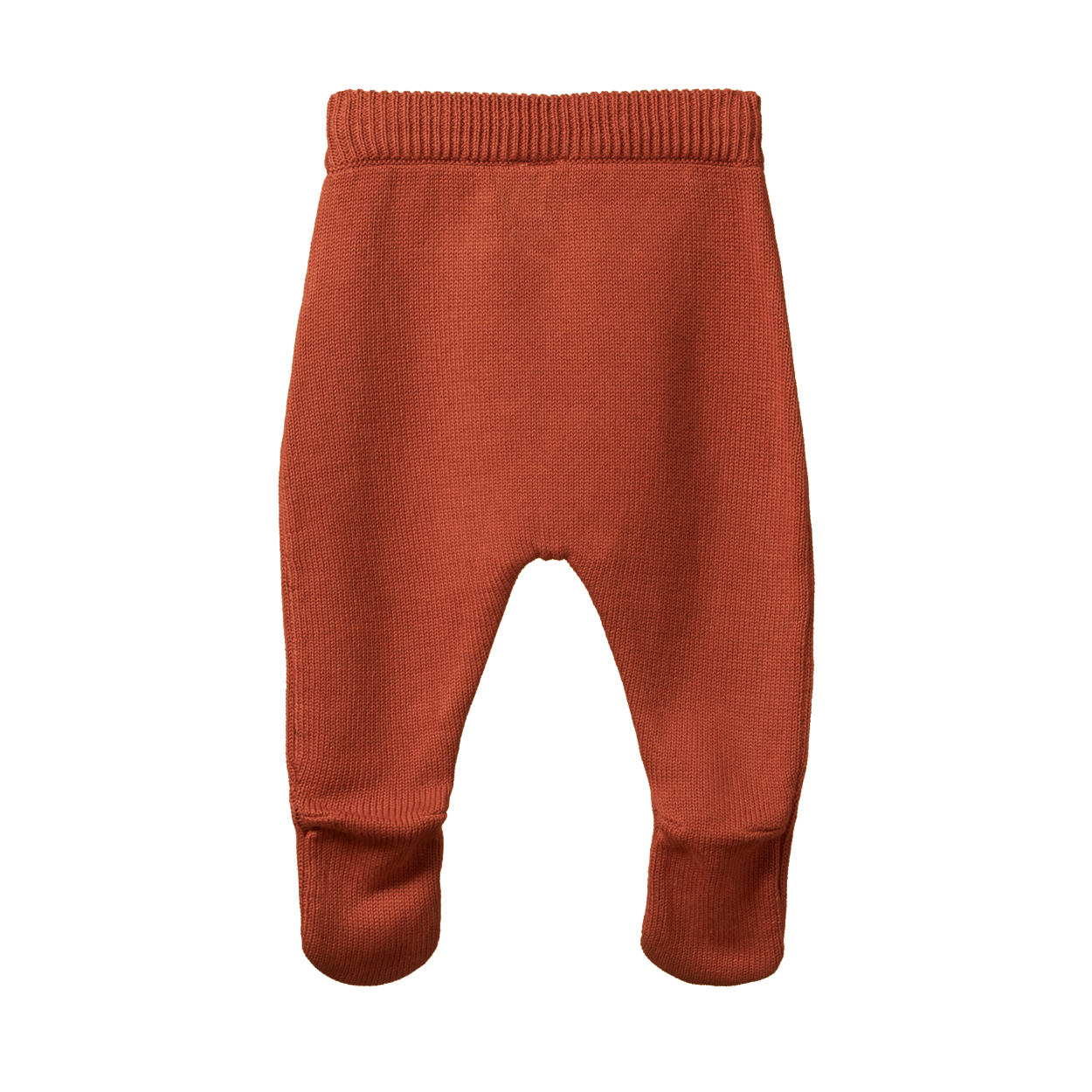 Nature Baby Footed Legging (rust knit)