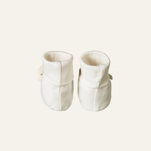 Nature Baby Cotton Booties (natural)
