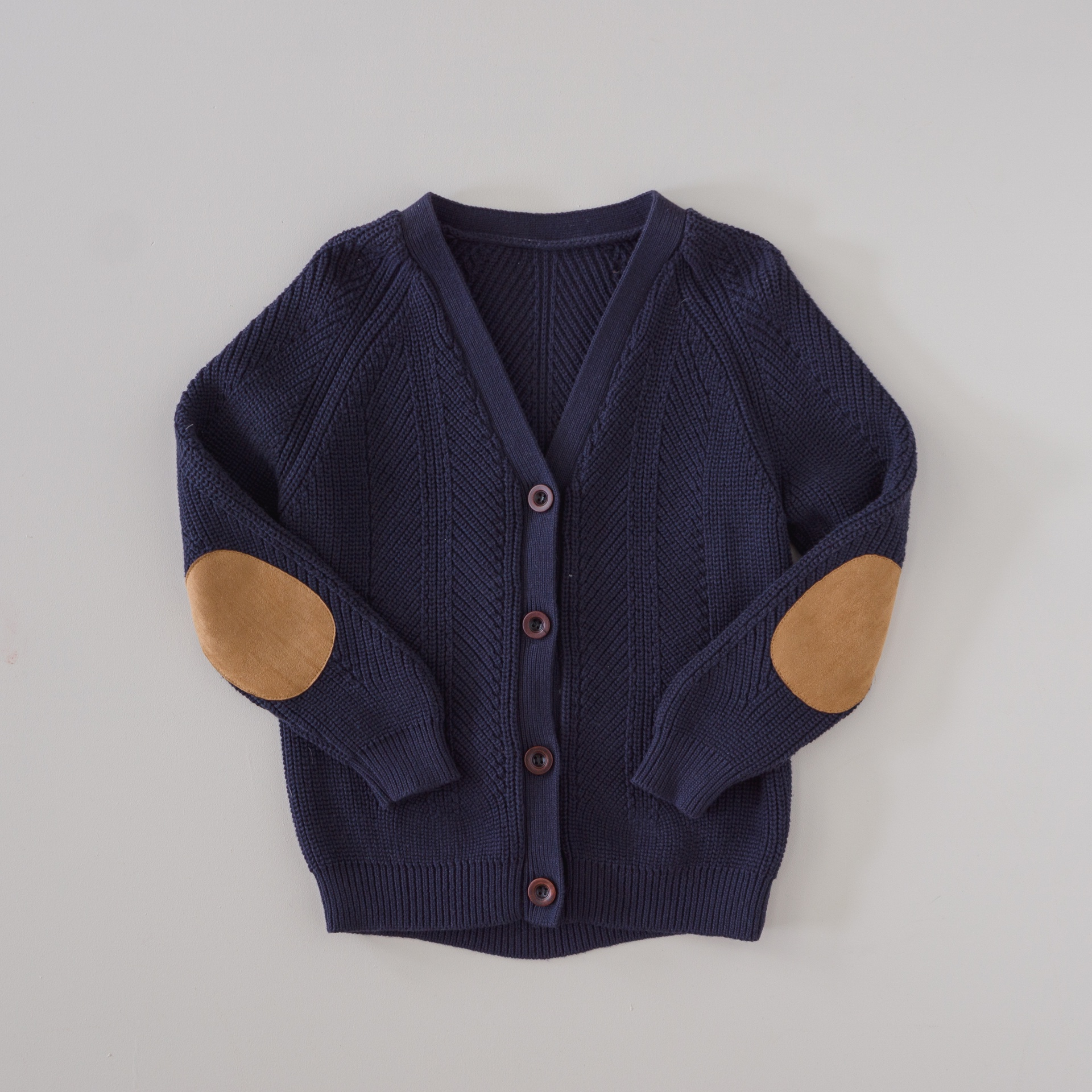 Two Darlings Kids Knit Cardigan (midnight) ** Pre Order
