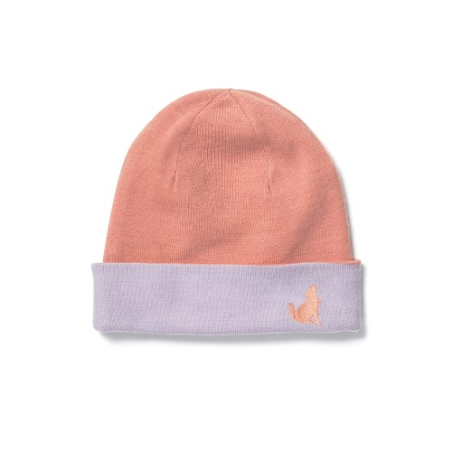 Crywolf Reversible Beanie (rose/lilac)